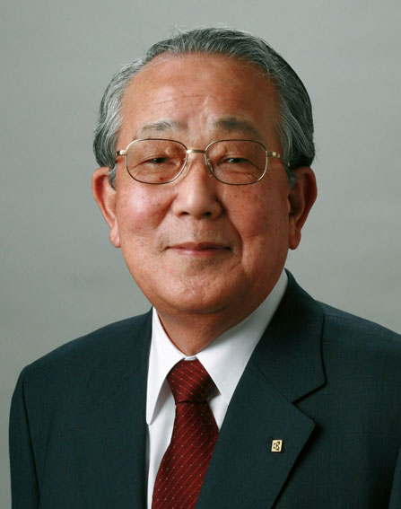 In this May, 2006 photo released by Kyocera Corp., Kazuo Inamori, founder of Japanese electronics component maker Kyocera Corp., based in Kyoto, western Japan, is shown. Inamori, 77, agreed to head troubled Japan Airlines Corp., known as JAL, after meeting Wednesday, Jan. 13, 2010, with the turnaround officials in Tokyo. He said he was confident the airline could return to a solid footing. (AP Photo/Kyocera Corp.) **NO SALES, EDITORIAL USE ONLY**